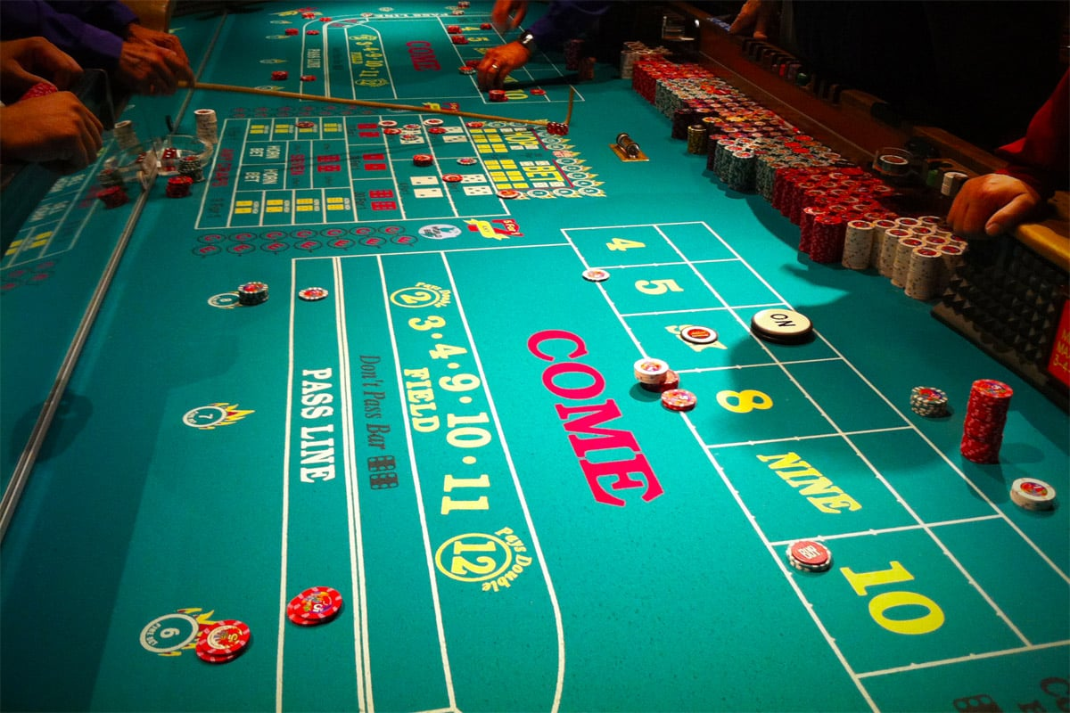 Pass Line Bet - Craps Most Important Bet